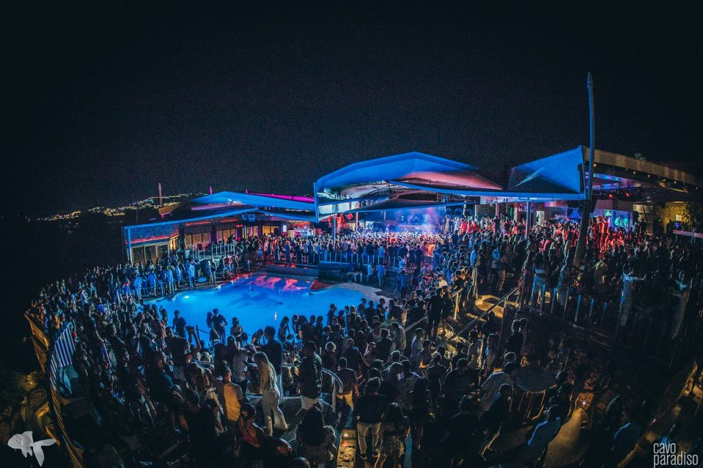 Cavo paradiso club mykonos